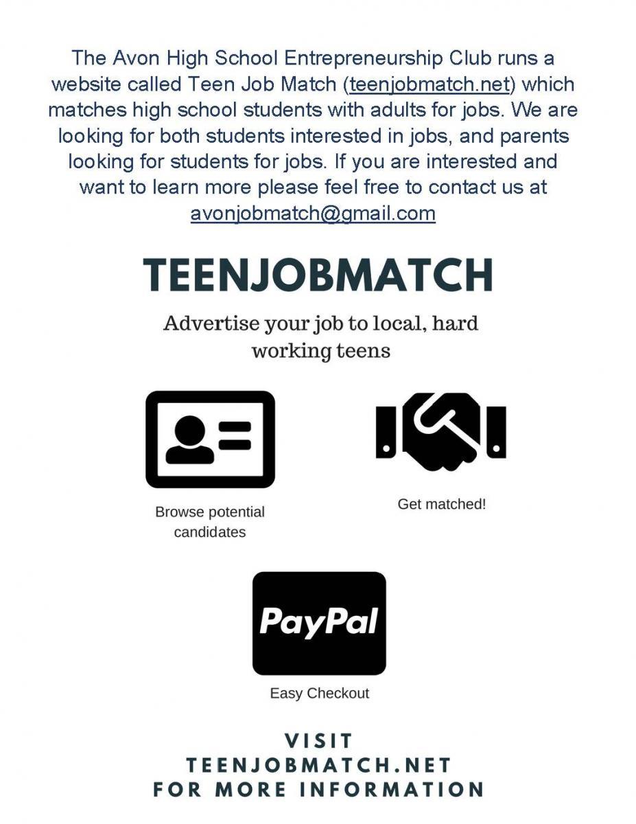 Teen Job Match