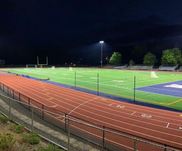 AHS athletic lighting project