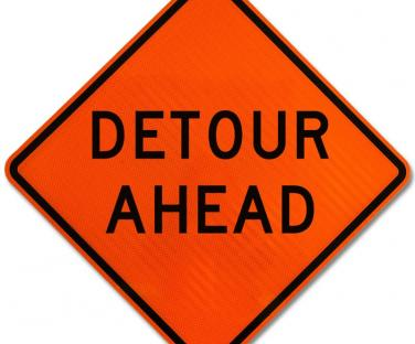 Route 4 Detour - Beginning July 12th