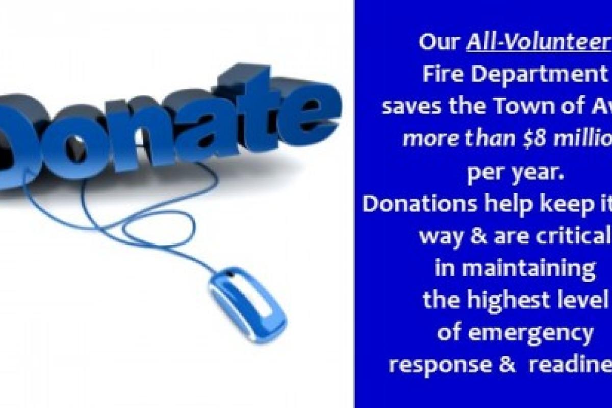 Donate Logo & Message