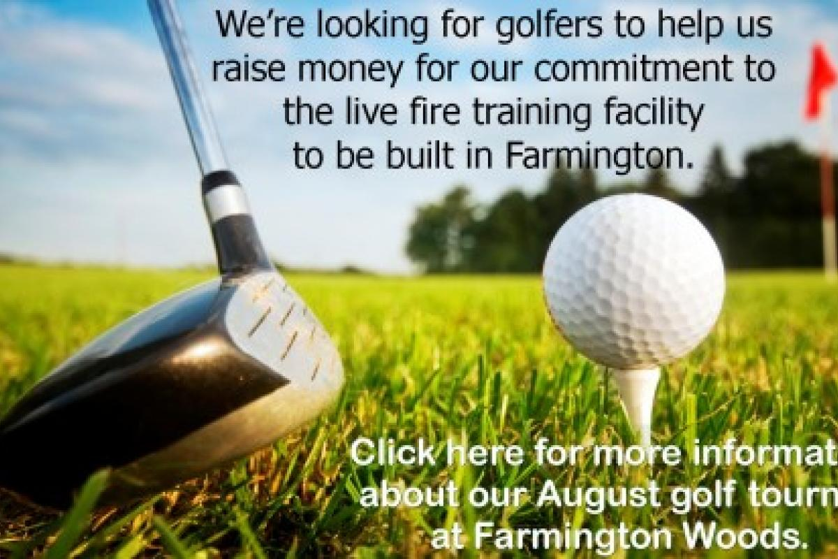 Golf Tourney message