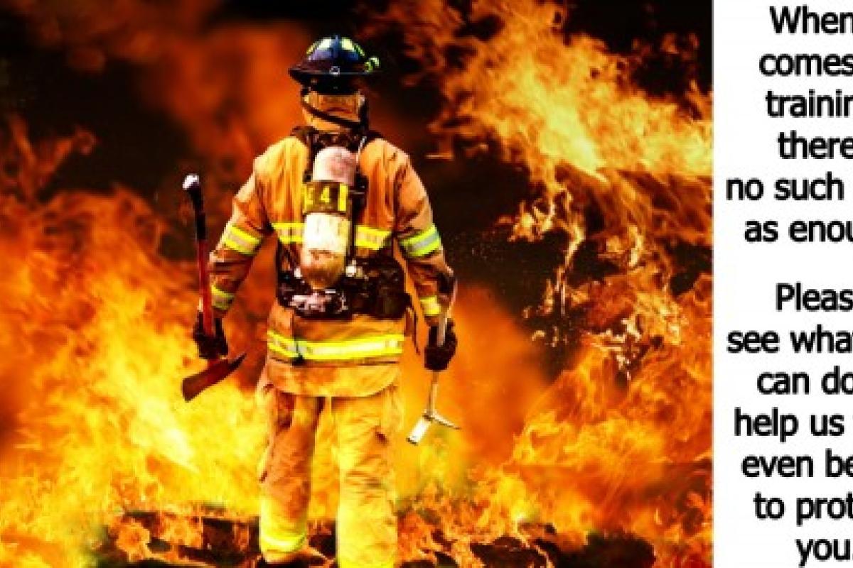 Live Fire Training Notice