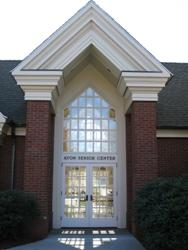 Senior Center Entrance