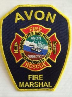 Fire Marshall badge
