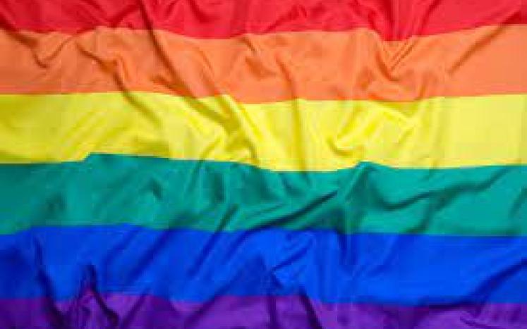pride month yard sign