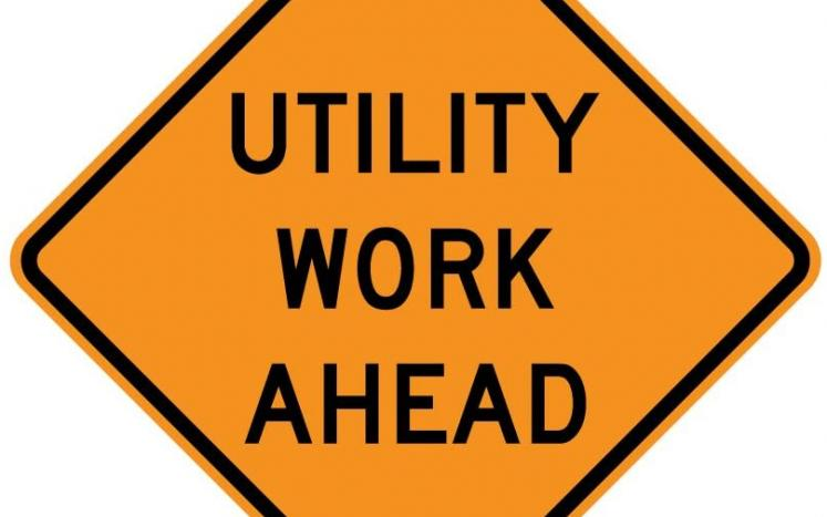 utility construction project